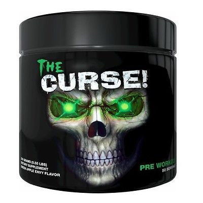 Cobra Labs THE CURSE Pre-Workout Beta Alanine Creatine 50 Servings 3 FLAVORS