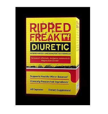 PharmaFreak RIPPED FREAK DIURETIC 48 capsules DETOX Shed Water Weight