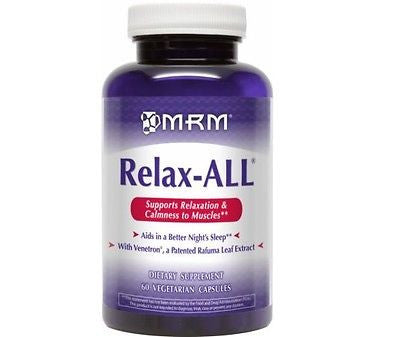 MRM RELAX-ALL with GABA Muscle Relaxer Sleep Aid 60 Capsules