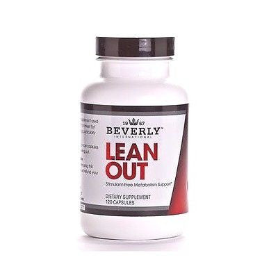 Beverly International LEAN OUT Stimulant-Free Fat Burner Weight Loss Energy - 120 capsules