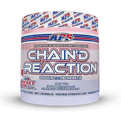 APS Nutrition CHAIN'D REACTION 2:1:1 BCAA Branched Chain Amino Acid 25 Servings