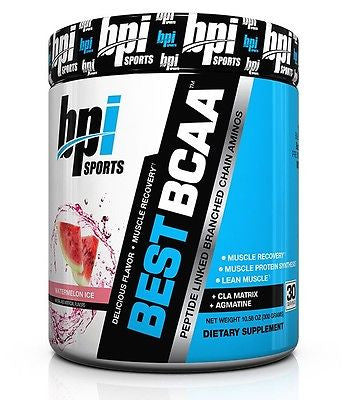 Bpi BEST BCAA Amino Acid Agmatine CLA Pre-Intra-Post 30 Servings