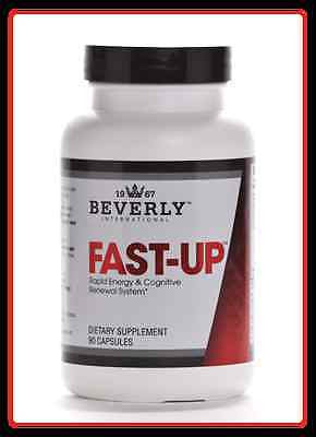 Beverly International FAST-UP 90 capsules Energy Focus Caffeine Vitamin B12