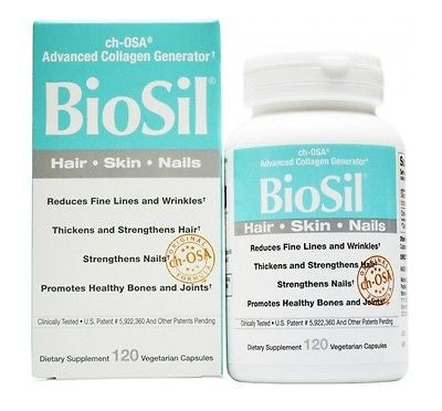 Natural Factors BioSil cH-OSA Advanced Collagen Generator 5 mg - 120 capsules