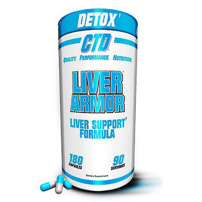 CTD Sports LIVER ARMOR Cycle Support Antioxidants Milk Thistle - 180 capsules