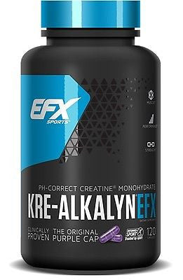 All American Kre-Alkalyn EFX pH Correct Creatine - 120 capsules