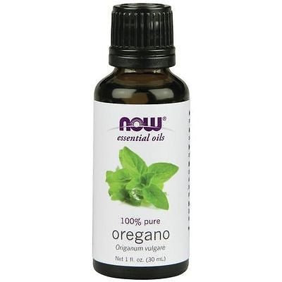 Now Foods 100% Pure Essential OREGANO OIL 1oz Therapeutic AromaTherapy Diffuser