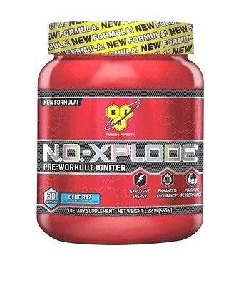 BSN N.O.-XPLODE NEW FORMULA Pre-Workout Energy Pump 30 Servings NO XPLODE