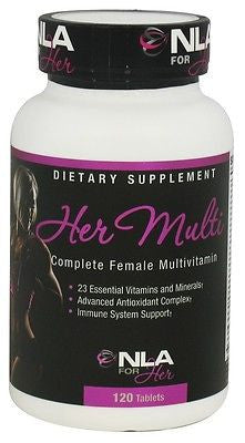 NLA for Her - HER MULTI 120 tablets Vitamins Minerals FEMININE MULTIVITAMIN