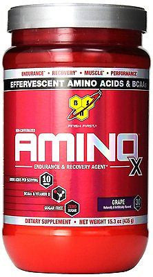 BSN AMINO X Endurance & Recovery Agent BCAA Amino Acid 30 Servings NEW FLAVORS
