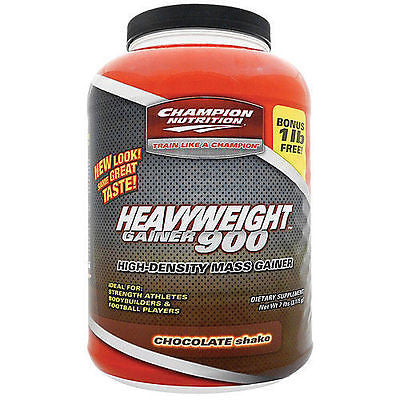 Champion Nutrition HEAVYWEIGHT GAINER 900 - 7 lbs - CHOOSE FLAVOR