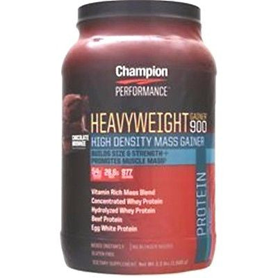 Champion Nutrition HEAVYWEIGHT GAINER 900 - 3.3 lbs - CHOOSE FLAVOR