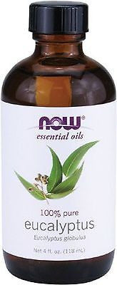 Now Foods 100% Pure EUCALYPTUS Essential Oil - 4 oz AROMATHERAPEUTIC