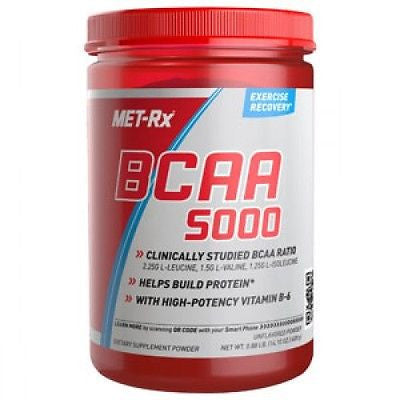 Met-Rx BCAA 5000 Powder AMINO ACID Recovery 300g 46 Servings - PICK FLAVOR