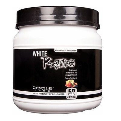 Controlled Labs WHITE RAPIDS Pre-Workout Nitric Oxide 50 Servings