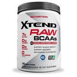 Scivation Xtend RAW UNFLAVORED BCAAs  No Artificial Anything - 30 Servings