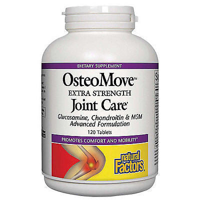 Natural Factors OsteoMove Extra Strength Joint Care Antioxidant - 120 tablets