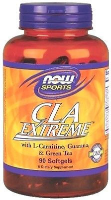 NOW Foods Sports CLA EXTREME - 90 Softgels - BUILD MUSCLE, BURN FAT