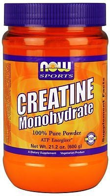 Now Foods Sports CREATINE Micronized Powder - 21.2 oz (600g) - 120 Servings