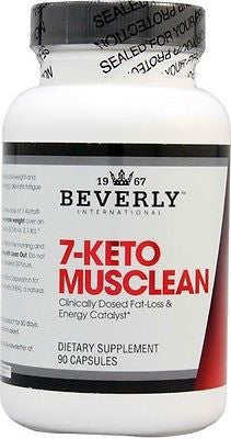 Beverly International 7-KETO MUSCLEAN 90 Capsules Metabolism, Energy, Fat Loss, Mood Support