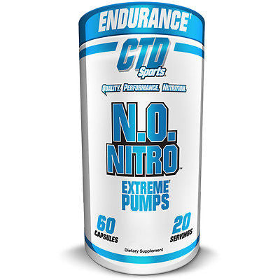CTD Sports N.O. NITRO Extreme Pump Endurance Strength - 60 capsules
