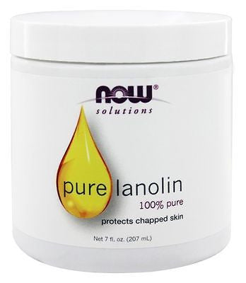 Now Foods 100% Pure LANOLIN 7 oz - Protects Chapped Skin -  MOISTURIZER