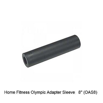 Body Solid Olympic Adapter Sleeve 8 Inch OAS8 with HEX LOCK
