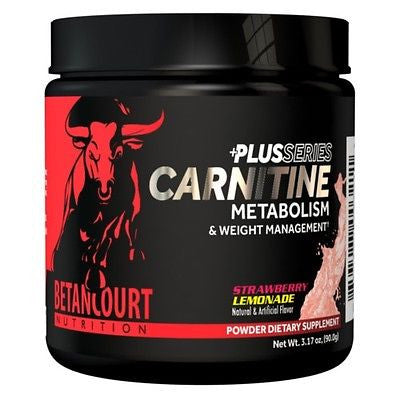 Betancourt CARNITINE PLUS Performance FAT LOSS Weight Control - 60 Servings