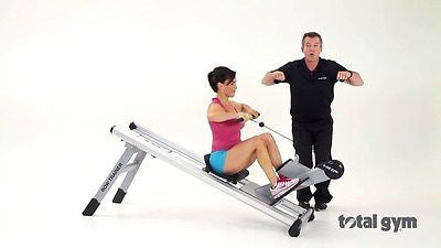 Total Gym Commercial ROW TRAINER Rowing Exercise Machine ROWER
