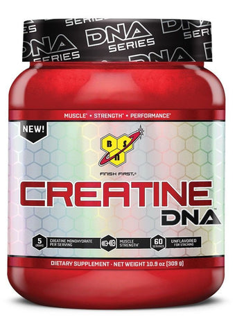 BSN CREATINE 5g per Serving DNA Series BUILD MUSCLE 60 Servings UNFLAVORED