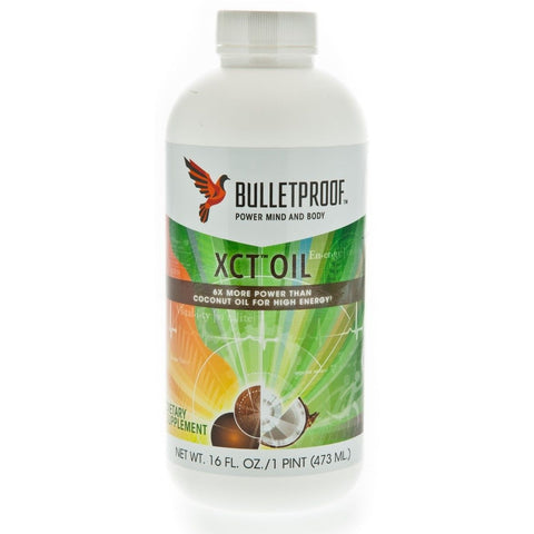 Bulletproof XCT OIL - 16 oz, BUILD MUSCLE BURN FAT-  Bullet Proof Coffee EFA MCT