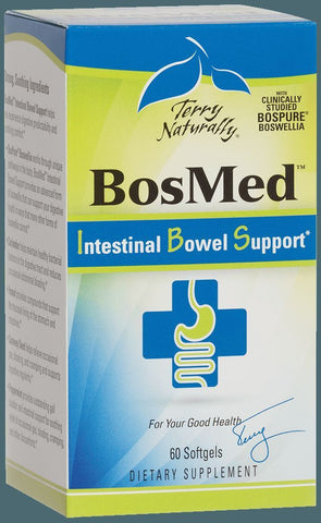 EuroPharma (Terry Naturally) BosMed Intestinal Bowel Support - 60 Softgels