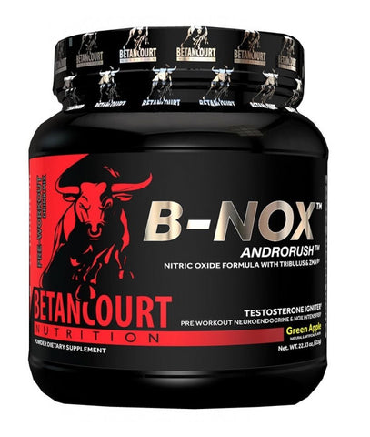 Betancourt B-NOX Androrush Pre-Workout Testosterone Pump 35 Servings BULLNOX