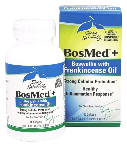 EuroPharma  (Terry Naturally) BosMed + Boswellia with Frankincense Oil - 60 ct