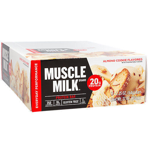 Cytosport Muscle Milk Red Protein Bar - Box of 12 Bars