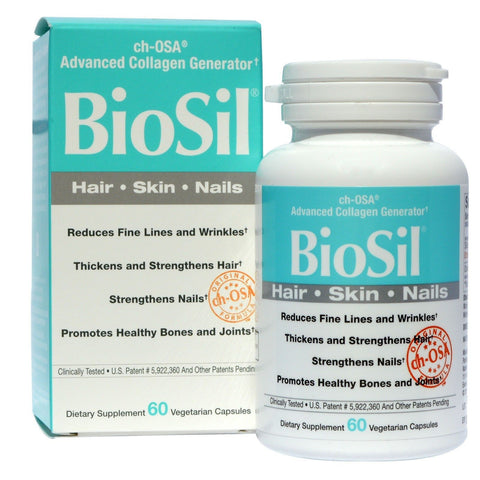 Natural Factors BioSil cH-OSA Advanced Collagen Generator 5 mg - 60 capsules