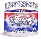 APS L-GLUTAMINE Powder 500g 100 Serves Unflavored BUILD MUSCLE RECOVERY STRENGTH