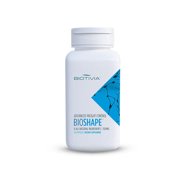 Biotivia BIOSHAPE Natural Fat Burner Weight Loss - 60 caps BIO SHAPE