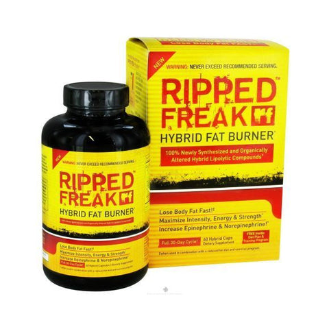 PharmaFreak RIPPED FREAK Hybrid Weight Loss FAT BURNER 60 capsules