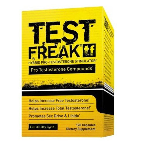 PharmaFreak TEST FREAK Testosterone Booster BUILD MUSCLE 120 capsules
