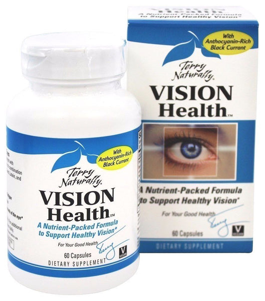 EuroPharma (Terry Naturally) VISION HEALTH, 60 caps HEALTHY EYESIGHT, EYE HEALTH