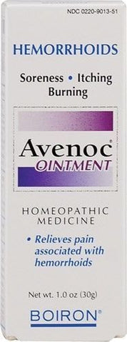 Boiron AVENOC Ointment - 1 oz HEMORRHOID RELIEF
