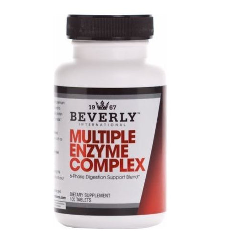 Beverly International MULTIPLE ENZYME COMPLEX 100 tabs Digestive Health Support