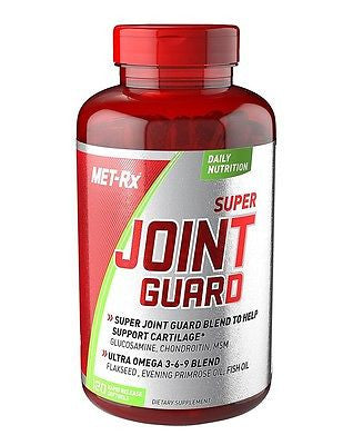 Met Rx SUPER JOINT GUARD Glucosamine Omega-3 Fish Oil Primrose 120 Caps Met-Rx