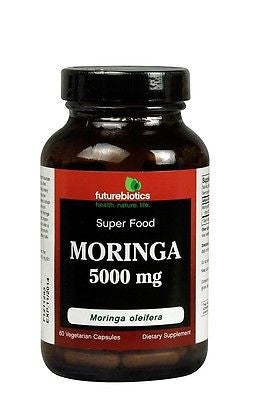 Futurebiotics MORINGA 5000mg Superfood Miracle Plant 60 Capsules