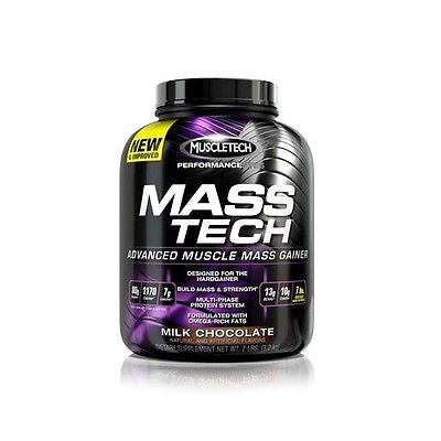 MuscleTech MASS-TECH Advanced Muscle Mass Gainer Protein 7 lbs