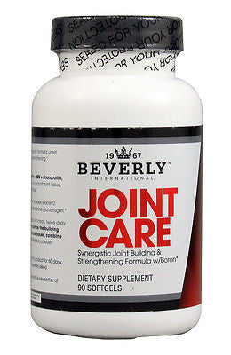 Beverly International JOINT CARE Glucosamine MSM Chondrotin, 90 gels PAIN RELIEF, FLEXIBILITY