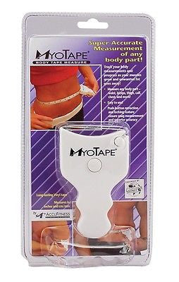 AccuFitness MyoTape Body Tape Measure Body Mass MYO TAPE