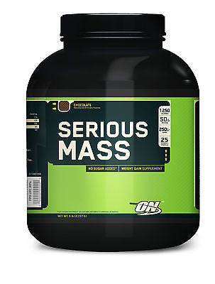 Optimum Serious Mass 6 lb Mass Gainer Protein