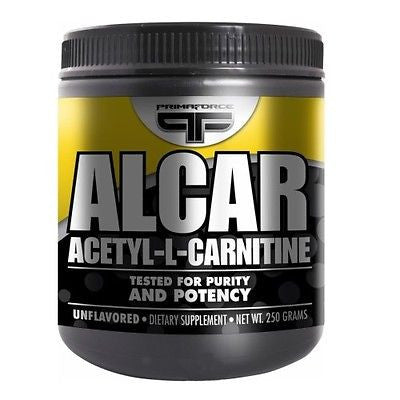 Primaforce ALCAR Acetyl L-Carnitine Energy 500 Servings 250 Grams UNFLAVORED